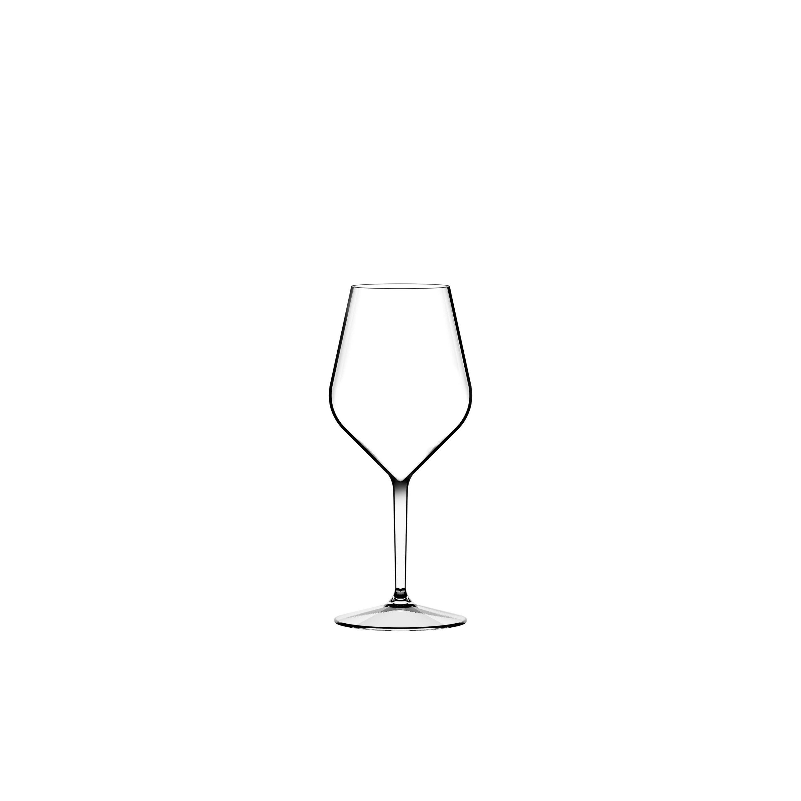 Italesse Air Beach Collection veiniklaas läbipaistev
