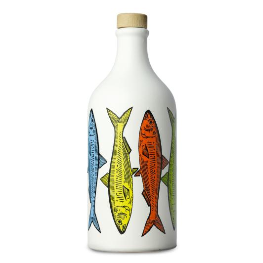 Frantoio Muraglia Keraamiline pudel Sardiinid 500ml