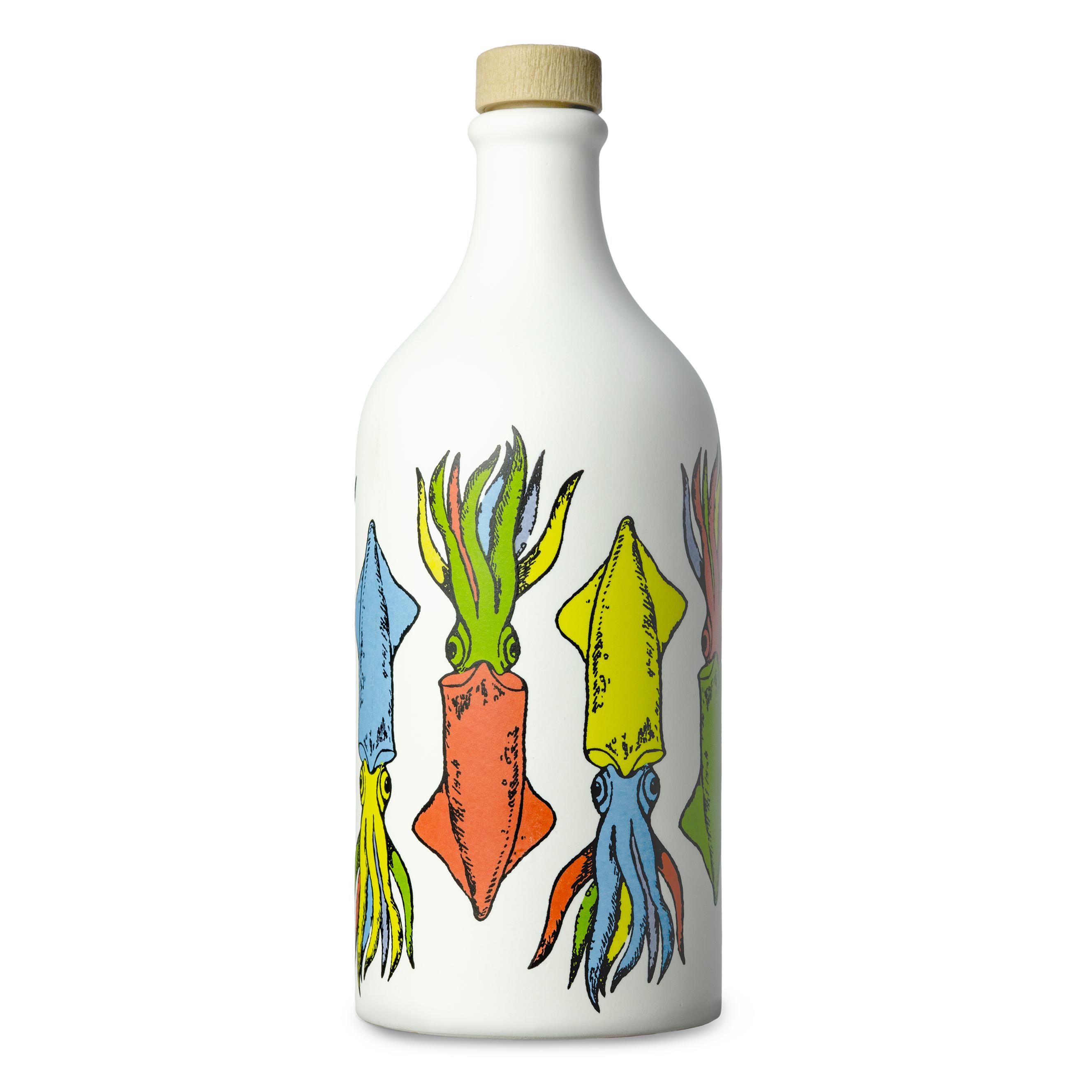 Frantoio Muraglia Keraamiline pudel Kalmaarid 500ml