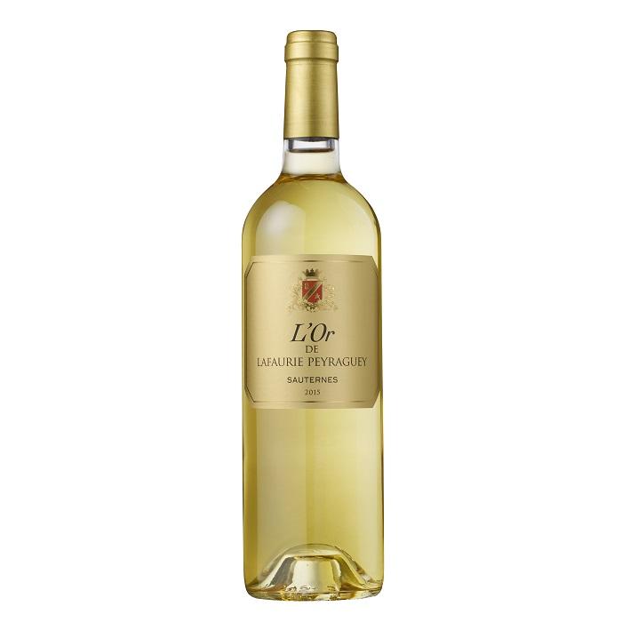 L'Ór de Lafaurie Peyraguey 2nd vin Sauternes AOP 2015  37,5 cl