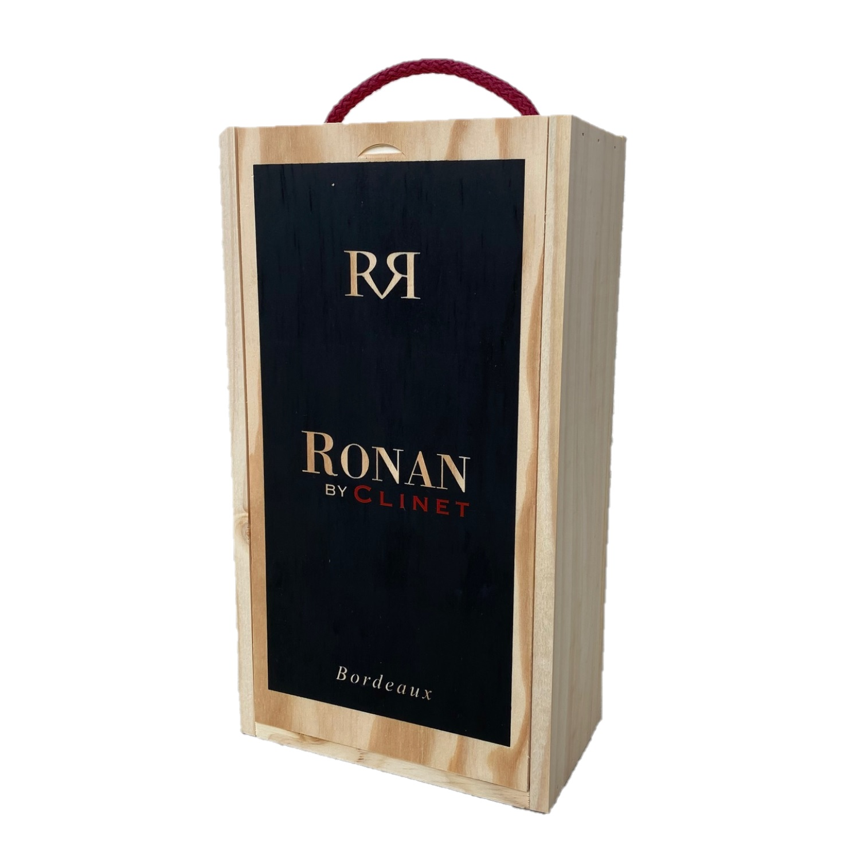 Puidust veinikarp 2 pudelile Ronan by Clinet veinile