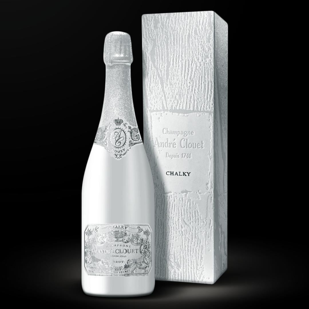 André Clouet Chalky on 100% Chardonnay Champagne