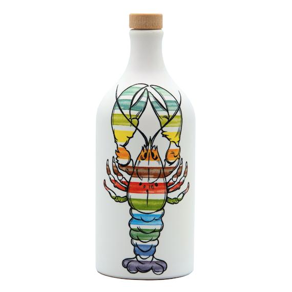 Frantoio Muraglia Keraamiline pudel Lobster 500ml